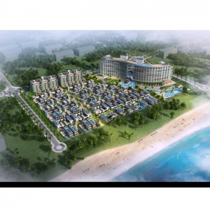 Resort hotel in Hainan island